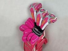 Kobiety kluby golfowe Honma Beres S-06 zestaw do golfa Honma Beres komplet kierowca + Fairway Woods + żelazka + miotacz L wał z pokrowiec na główkę