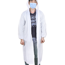 Waterproof Raincoat Hood-Poncho Clear Disposable Travel Adult Women Camping Emergency