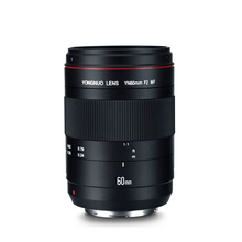 YN 60mm f2 0.234m Manual Focus Macro  Lens Full Frame Large Aperture AF Fixed Focus Lens for CANON OS 70D 5D2 5D3 600D DSLR yongnuo yn 50mm lens fixed focus lens ef 50mm f 1 8 af mf lense large aperture auto focus lens for canon dslr camera pouch bag