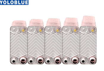 32 Plates stainless steel heat exchanger Brazed plate type water heater SUS304