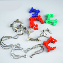 14/19/24-/.. Plastic 5pcs Keck-Clamp Interface Ground-Joint Stainless-Steel Alkali