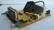 DIY kitleri 1W/7W FM verici boadcast PCB 76M 108MHZ stereo PLL FM verici suite DIY kitleri
