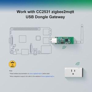 Image 3 - Sonoff Zigbee CC2531 USB Dongle Modul Bare Board Paket Protokoll Analyzer Usb schnittstelle Dongle Unterstützt BASICZBR3 S31 Lite zb