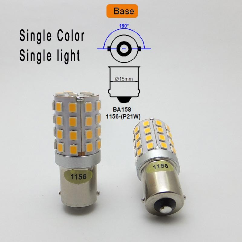 Image 3 - AMYWNTER 12V 1157 BAY15D P21/5W 1156 BA15S P21W Canbus LED PY21W 1056 BAU15S Turn Signal Running Light Bulb Red/Yellow/Whiterunning lightssource 12vled signal -