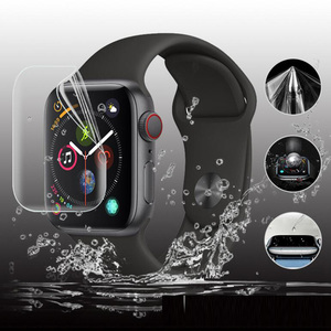 Image 3 - 9D hidrojel Film tam kenar koruyucu kapak iwatch için 4/5/6/SE 40mm 44mm ekran koruyucu Apple için İzle serisi 2/3 38mm 42mm