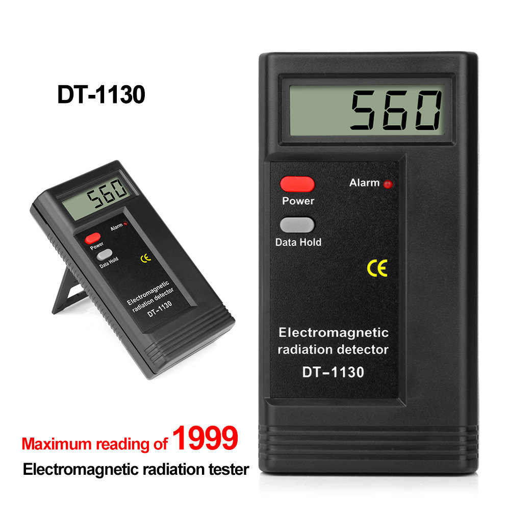 DT1130 Handheld Digital Lcd Emf Meter Elektromagnetische Straling Tester Elektrische Veld Magnetisch Veld Dosimeter Detector