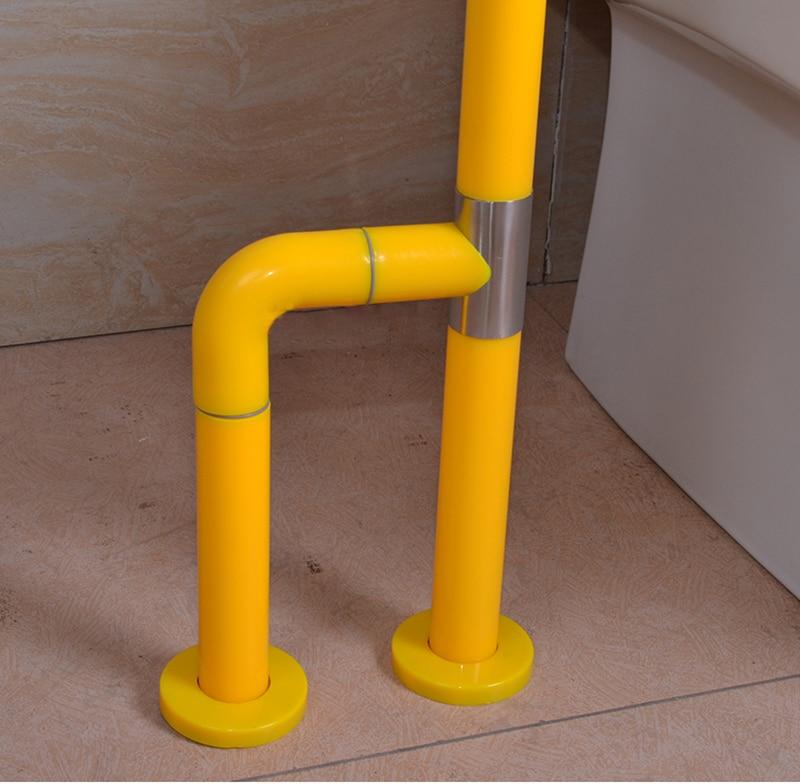 XIYANGZHUSHOU поручень для туалета нагрузка 200 кг нержавеющая сталь для пожилых людей, детей, инвалидов, вспомогательный инструмент, безопасные Нескользящие поручни для ванной комнаты