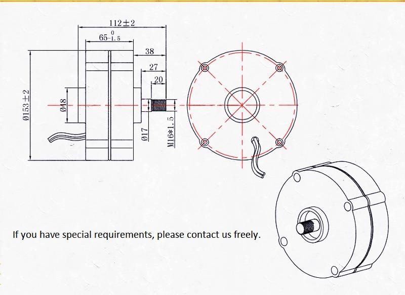 100S 200w S permanent magnet generator_副本