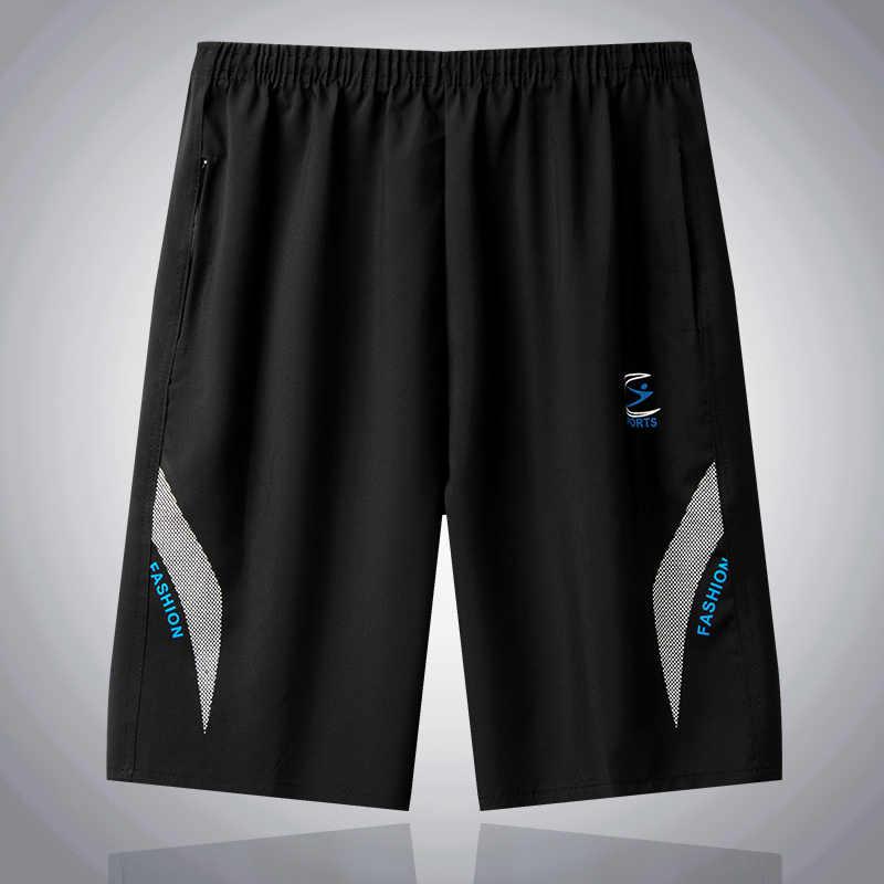 Pantalones cortos de secado rápido para verano, pantalones cortos deportivos para hombre a granel, pantalones cortos para playa, Pantalones rectos de cintura elástica, Bermudas respirables de marca MuLS