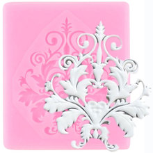 Gumpaste Moulds Polymer Clay Fondant-Molds Cake-Decorating-Tools Chocolate Lace-Border