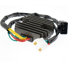 цены Aluminum Voltage Rectifier Regulator for HONDA CBR600 F4i Motorcycle Rectifier 2001-2006 Motorcycle Voltage Regulator Rectifier