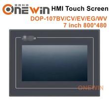 חדש ומקורי DOP 107BV DOP 107CV DOP 107EV DOP 107EG DOP 107WV HMI מגע מסך 7 אינץ אדם מכונת ממשק תצוגה