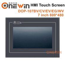 Novo e original DOP-107BV DOP-107CV DOP-107EV DOP-107EG DOP-107WV hmi tela de toque 7 polegada interface da máquina humana exibição