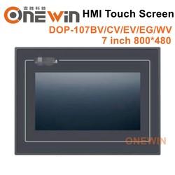 Neue und original DOP-107BV DOP-107CV DOP-107EV DOP-107EG DOP-107WV HMI touch screen 7 zoll Human Machine Interface Display