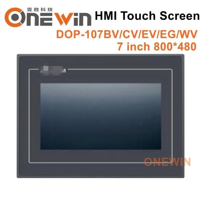 Nieuwe en originele DOP 107BV DOP 107CV DOP 107EV DOP 107EG DOP 107WV HMI touch screen 7 inch Human Machine Interface Display