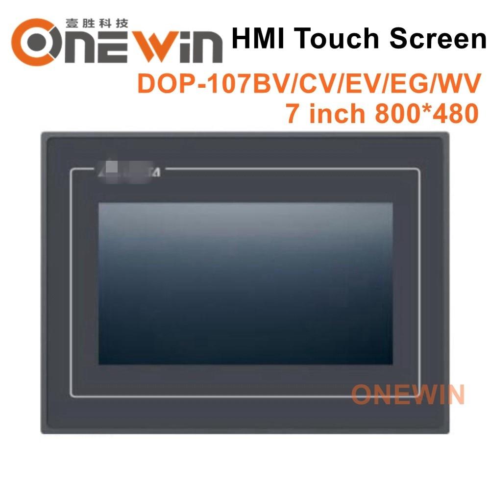 Nouveau et original DOP-107BV DOP-107CV DOP-107EV DOP-107EG DOP-107WV HMI écran tactile 7 pouces D'interface de Machine Humaine Affichage