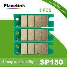 Plavetink 3 шт. sp 150he sp150he чип картриджа с тонером для Ricoh SP150 sp 150 150SU 150sp 150SUw 150w SP150su sp150w sp150suw