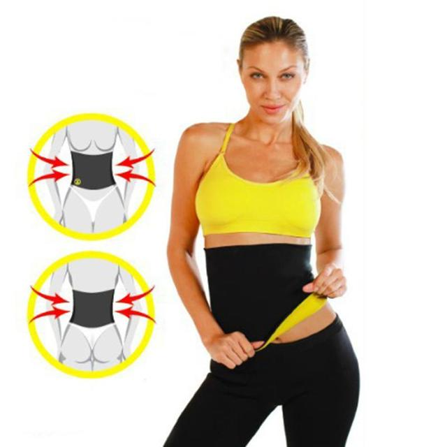 Sport Waist Support Thermo Sweat Sauna Slimming Waist Lady Weight Loss Belt S-XXXL Size Bodysuit Trainer Feminina Mujer 3