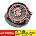 Zero Clearance ยี่ห้อใหม่ PCV วาล์วฝาครอบชุดซ่อมวาล์วหมวกเมมเบรนสำหรับ Peugeot 207 EP6 VTI Citroen MINI COOPER N12 N16