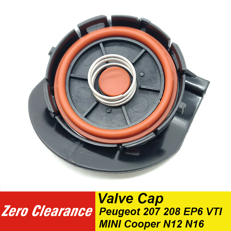 Zero Clearance Brand New PCV Valve Cover Repair Kit Valve Cap With Membrane For Peugeot 207 EP6 VTI Citroen MINI Cooper N12 N16