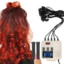 Small Portable Digital PTC Heating Hair Perm Machine with Hair Roller Styling Tool