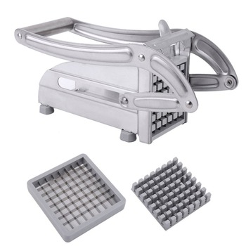 Stainless Steel Manual French Fries Slicer Potato Chipper Chip Cutter Chopper Maker Potato Chips Making Machine itop free shipping stainless steel manual twisted potato slicer spiral potato slicer cutter 3 in 1 tornado cutting machine