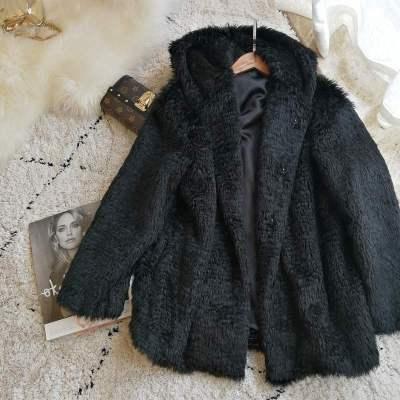 2020 New Style High-end Fashion Women Faux Fur Coat S15