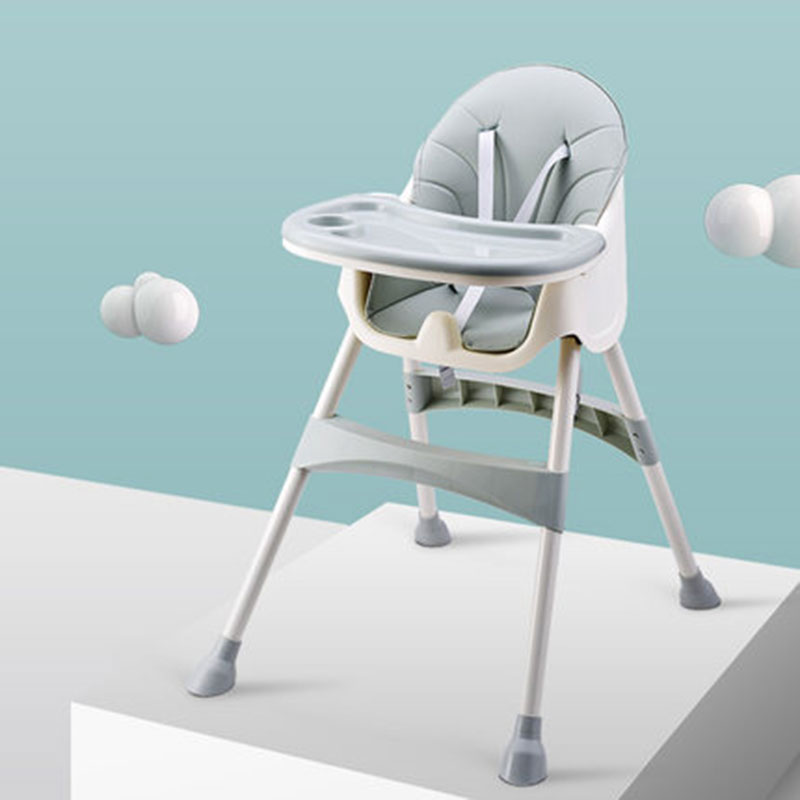 Baby Dining Chair Can Be Adjusted For Folding 6 Months - 5 Years Old Multi-Functional Seat Two Styles
