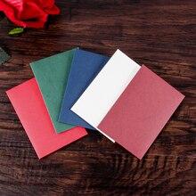 Mini Vintage Romantic Mini Paper Envelope for Student Cute ID Card Holder Wedding Scrapbooking Letter Envelope Gifts 10pcs/set