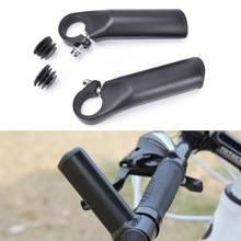 1Pair Aluminum Mountain Bicycle Handlebar Aluminum Auxiliary Riding Horn Rest Handlebar