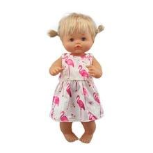 Boneca nenuco 2020 para bebês 42 cm, vestido para boneca de 17 polegadas