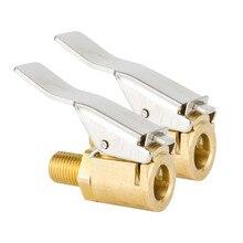 1 шт./2 шт. автомобильный шинный клапан надувной патрон из чистой меди воздушный патрон пневматический насос конверсионный соединитель Инструменты для укладки
