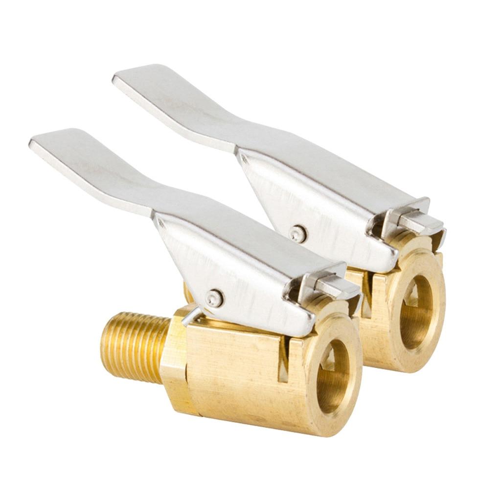 1 шт./2 шт. автомобильный шинный клапан надувной патрон из чистой меди воздушный патрон пневматический насос конверсионный соединитель Инструменты для укладки Стержни и колпачки клапана      АлиЭкспресс