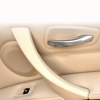 Hot Car Inner Handle Inner Door Panel Pull Trim Cover Left Right For BMW 3 Series E90 E91 316 318 320 325 328 image