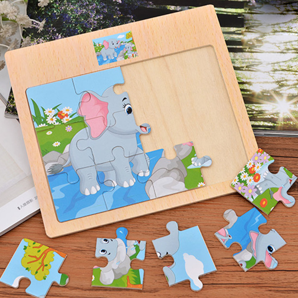 Permalink to Education Puzzle Wooden Assembly Toys Early Puzzle Kids Toys Baby Cartoon Animals Learning Educational Toys For Children Gift