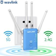 واي فاي مكرر/راوتر/نقطة وصول 1200Mbps اللاسلكية واي فاي المدى موسع واي فاي مكبر صوت أحادي الخارجية 4x3dBi هوائيات Wavlink