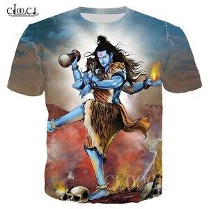 Индийский Властелин Шива футболка для мужчин и женщин футболка с 3D принтом индуизм Властелин Шива футболка Повседневная Уличная Одежда Harajuku топы с короткими рукавами