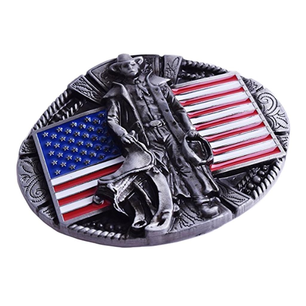 Belt Buckles For Men Western Cowboy Men Metal Zinc Alloy Belt Buckle DIY Leather Accessories
