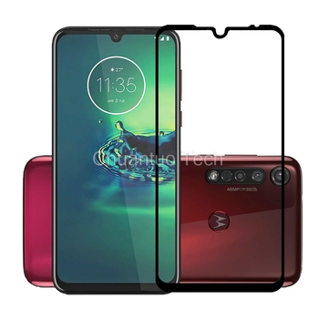 75 Pcs/Lot 2.5D Premium Tempered Glass Full Cover Screen Protector Protective Film for Motorola Moto G8/G8 Plus/G8 Power/G8 Play