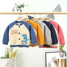 Boys Cardigan Sweater Long-Sleeve Toddler Baby-Girls Winter Kids Children's Cartoon Autumn