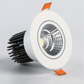LED COB Spotlight Ceiling lamp AC85-265V 3W 5W 7W 9W 12W 15W Aluminum recessed downlights round led panel light white black silv 7w dimmable cob led recessed cob downlights cob led ceiling lamp warm natural cold white white aluminum spot lamp ac85 265v