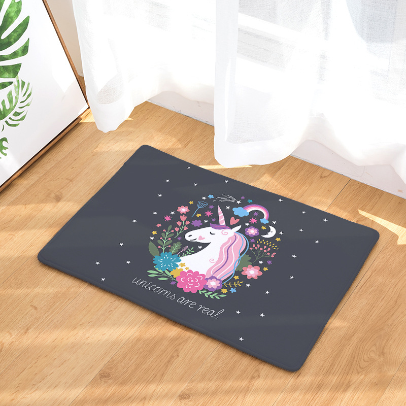Non-slip Unicorn Doormat For Living Room And Bathroom