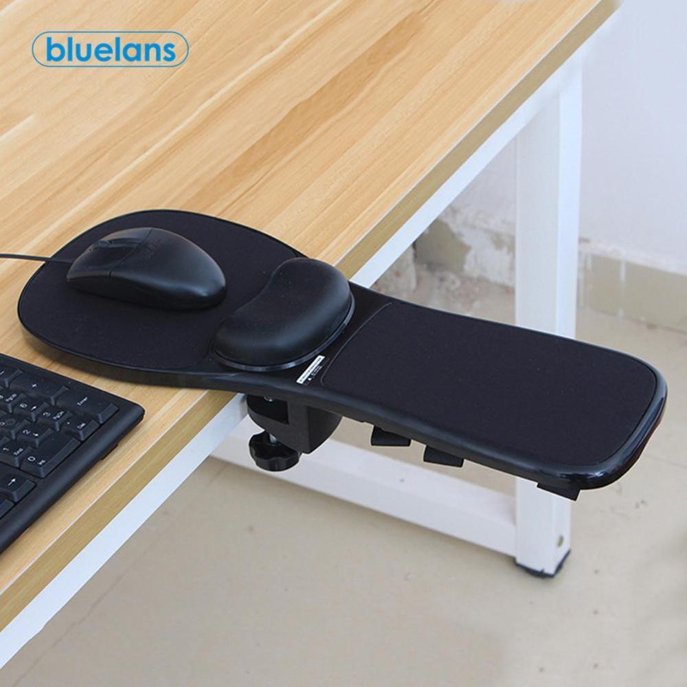 Attachable Armrest Pad Desk Computer Elbow Arm Rest Support Chair Desk Armrest Home Office Wrist Mouse Pad Hand Protect Mousepad