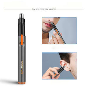 Nose-Hair-Trimmer Rechargeable for Men Women Universal Ear Shaver USB Beauty Face-Care