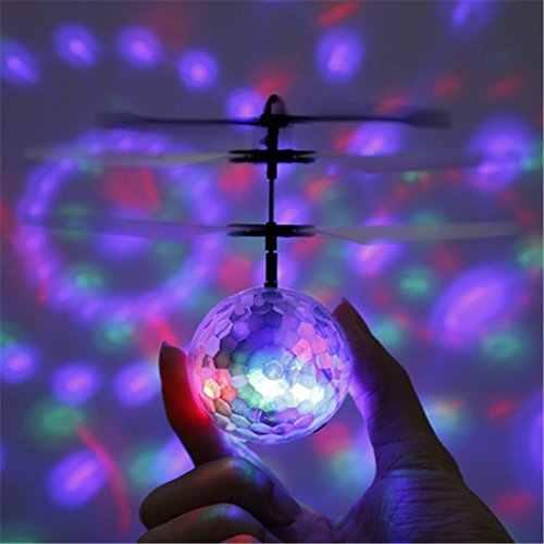 طائرة صغيرة بدون طيار RC هليكوبتر طائرة تحلق الكرة دمى طائرة الكرة التسلق LED الإضاءة كوادكوبتر درون يطير هليكوبتر الاطفال اللعب
