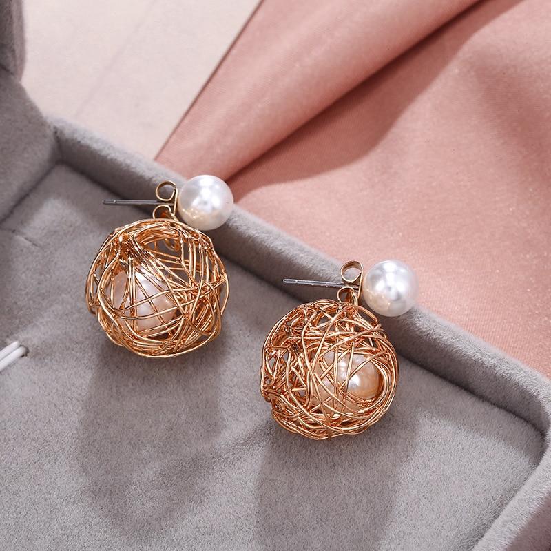 New Statement Earrings For Women 2020 Korean Earrings Dangle Vintage Butterfly Earrings Fashion jewelry For Valentines Day Gift
