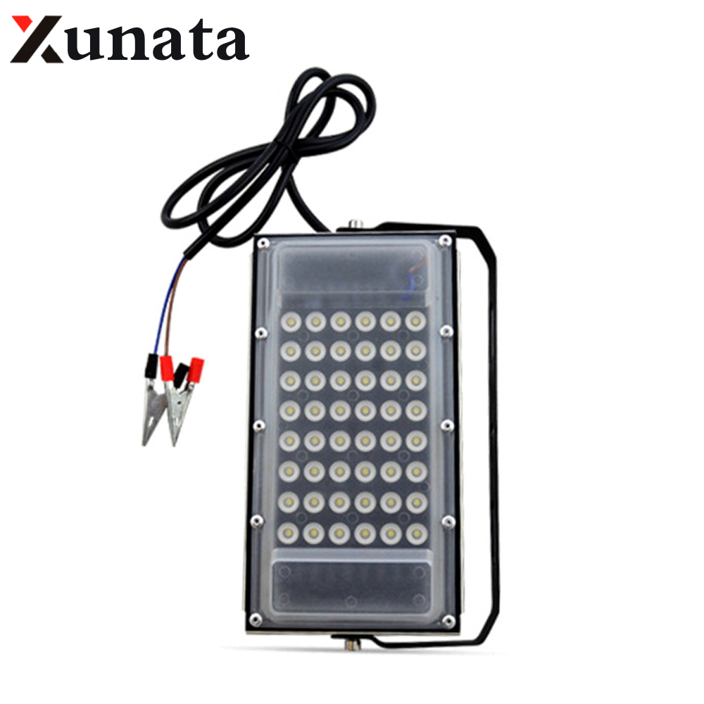 DC 12V LED Iodine Tungsten Lamp 50w Outdoor Engineering Waterproof Led Projection Lamp LED Spotlights Landscape Lighting