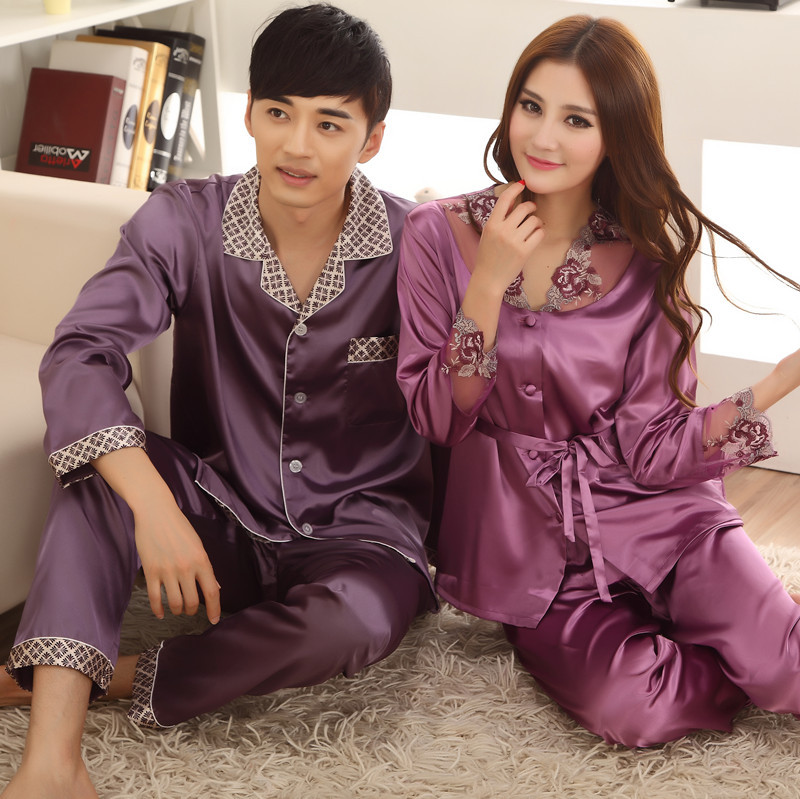 Free Shipping New Chinese Style Lovers Leisure Wear Kimono Bath Robe Night Robe Gown Yukata L XL XXL 3XL