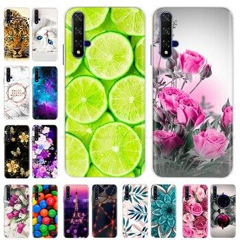 Перейти на Алиэкспресс и купить ТПУ чехол для телефона Huawei Honor 20 чехол Honor20 Мягкий силиконовый чехол для Huawei Honor 20 Pro 20 Lite 20 Lite задняя крышка чехол