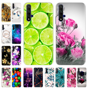 TPU Phone Case For Huawei Honor 20 Case Honor20 Case Soft Silicone Cases For Huawei Honor 20 Pro 20Lite 20 Lite Back Cover Coque silicone phone case for huawei honor 9 honor 9 lite cases soft tpu phone back cover full 360 protective shell new design